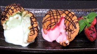 Как приготовить Жареное #мороженое - вкуснейший десерт рецепт видео #LudaEasyCook