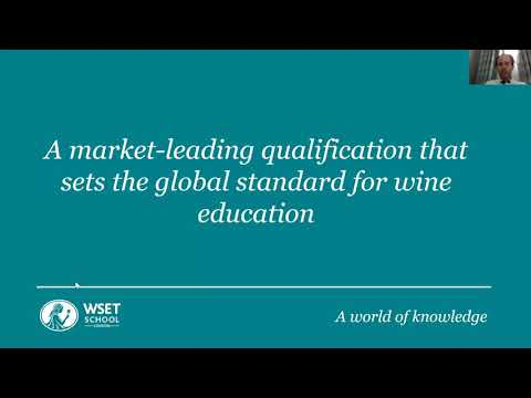 Introducing the WSET Level 4 Diploma in Wines with Russell Dent ...