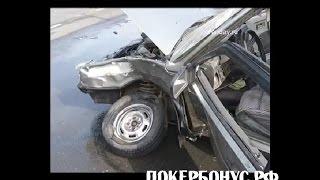 Тойота протаранила ВАЗ 2109 toyota vs vaz 2109 Оренбург сентябрь 2014