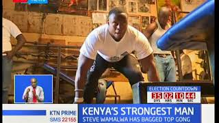 Steve Wamalwa hopes to represent Kenya in the World stage for strongest man