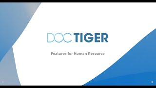 Doctiger HR Industry Leading Features