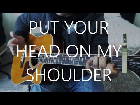 Put Your Head On My Shoulder - Paul Anka Guitar Cover | Anton Betita