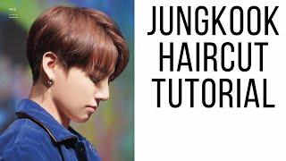 BTS Jungkook Haircut Tutorial - K-pop 2 Block Haircut - TheSalonGuy