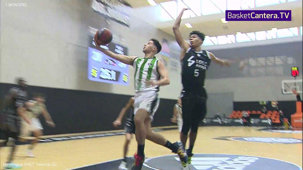 IKER MONTERO ('O3) 1.84 m. Joventut Badalona. Euroleague B. ANGT Valencia 2020/21 #BasketCantera.TV