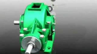Video Reductor engranes conicos
