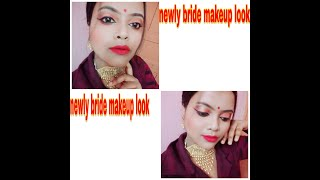 #Howto #baridel #makeup Newly bride makeup look// Style & tips in my way..#arpitastyleandtips.
