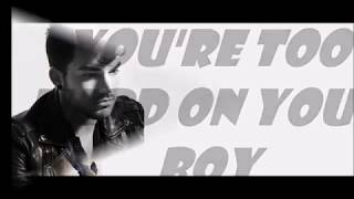 Adam Lambert Shame (Bonus Track) Full Lyrics
