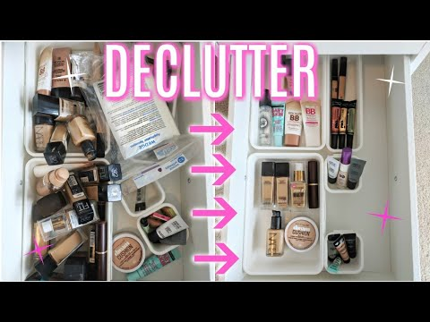 MAKEUP DECLUTTER | FOUNDATION & CONCEALER!!!