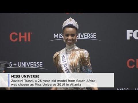 South African model Zozibini Tunzi crowned Miss Universe at Atlanta gala