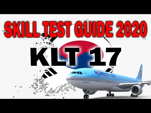 NEW SKILL TEST 2019: FULL GUIDELINE TO PASS