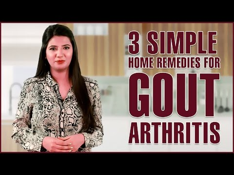 Video How To Get Rid Of GOUT PAIN (INFLAMMATORY ARTHRITIS) With Home Remedies
