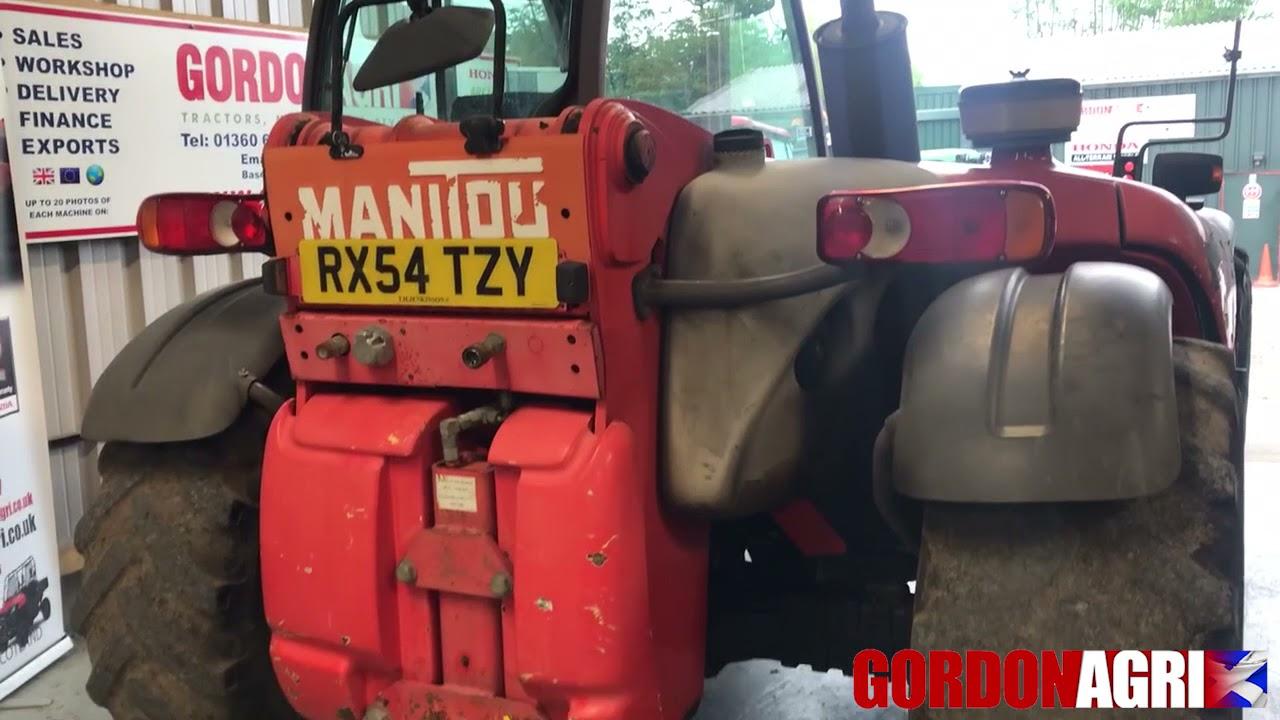 Manitou Manireach MLT 634-120 LSU Turbo