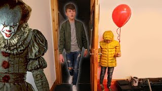 """IT"" CREEPY BALLOON PRANK ON BIG BROTHER! 
