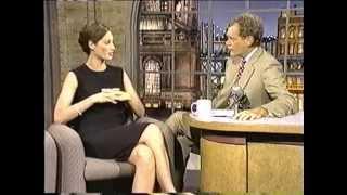 Christy Turlington • David Letterman 1994