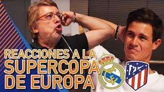 REACCIONES De Edu Aguirre Y Damián Al Real Madrid 2-4 Atleti De La Supercopa