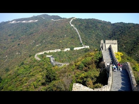Video Great Wall of China (Mutianyu Section) in HD
