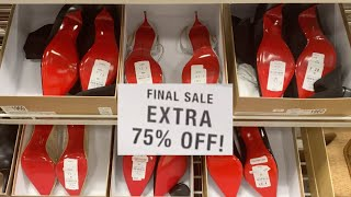 HUGE DESIGNER SHOE SALE! CHRISTIAN LOUBOUTIN, GOLDEN GOOSE, BALENCIAGA