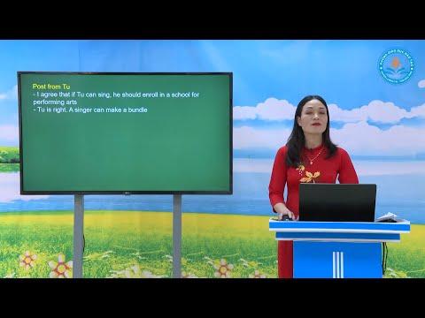 Môn Tiếng Anh lớp 9 Unit 12. Lesson 4 Communication