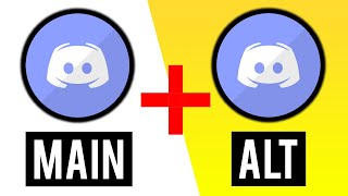 How To Make an ALT ACCOUNT on Discord & Use Two Accounts at The SAME TIME