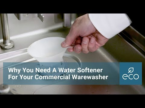 Why You Need A Water Softener For Your Commercial Warewasher