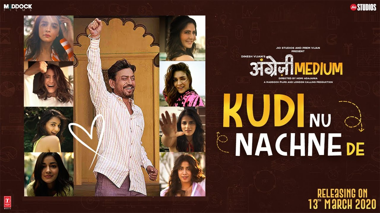 Kudi nu nachne de lyrics