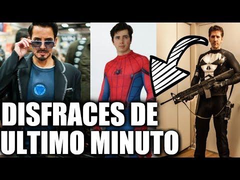 10 DISFRACES DE ULTIMO MINUTO PARA HALLOWEEN ( Cosplays que ya tienes en casa ) Carlos Te