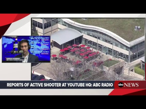 Reports of active shooter at YouTube HQ in San Bruno California   ABC News