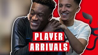 Warm Welcome for Hudson-Odoi & Rice as England Squad Reunites! | Player Arrivals | Inside Access