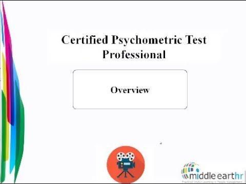Certified Psychometric Test Professional Overview - YouTube