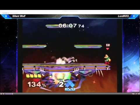 EVO 2013 - Super Smash Bros Melee Pool Matches - Silent Wolf vs LordKKS