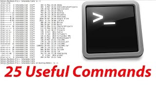 25 Terminal Commands For Beginners/ Programmers/ Mac OS X Users