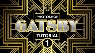 Photoshop Tutorial: Gatsby Art-Deco Poster Effect (Part 1 Of 3)