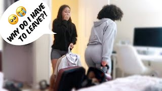 KICKING OUT MY LITTLE SISTER PRANK!!!