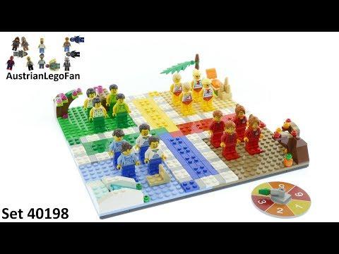 Vidéo LEGO Jeux de société 40198 : Le jeu des petits chevaux LEGO