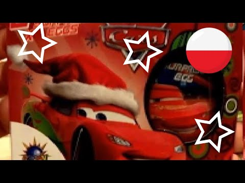 Cars Disney Pixar Lightning McQueen Kinder Surprise Eggs