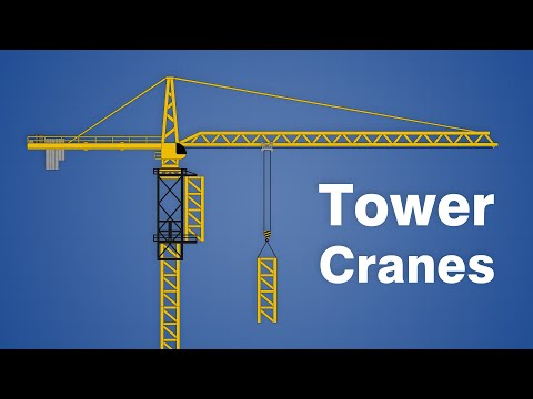 Did You Know Tower Cranes Build Themselves?