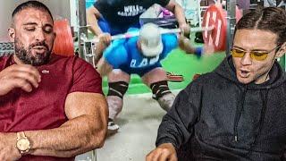 Kevin Wolter und Inscope21 reagieren auf die krassesten und lustigsten Gym Fails!