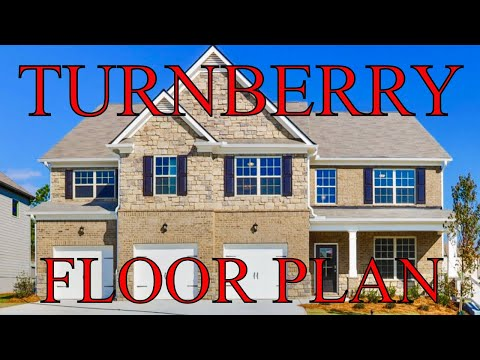 New Construction TURNBERRY Floor Plan In Atlanta, GA