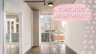 CHICAGO APARTMENT HUNTING - Moving Out Vlog