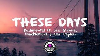 Rudimental Ft. Jess Glynne, Macklemore & Dan Caplen - These Days Marvin Vogel