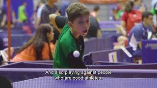 I Campeonato de España de Tenis de Mesa Inclusivo en Edad Escolar