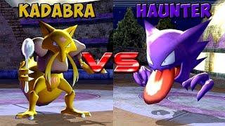 Pokemon battle revolution - Kadabra vs Haunter