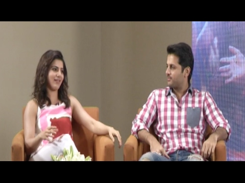 Nithiin and Samantha about A Aa Movie