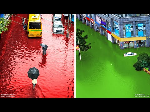 14 Strangest Rainfalls in History