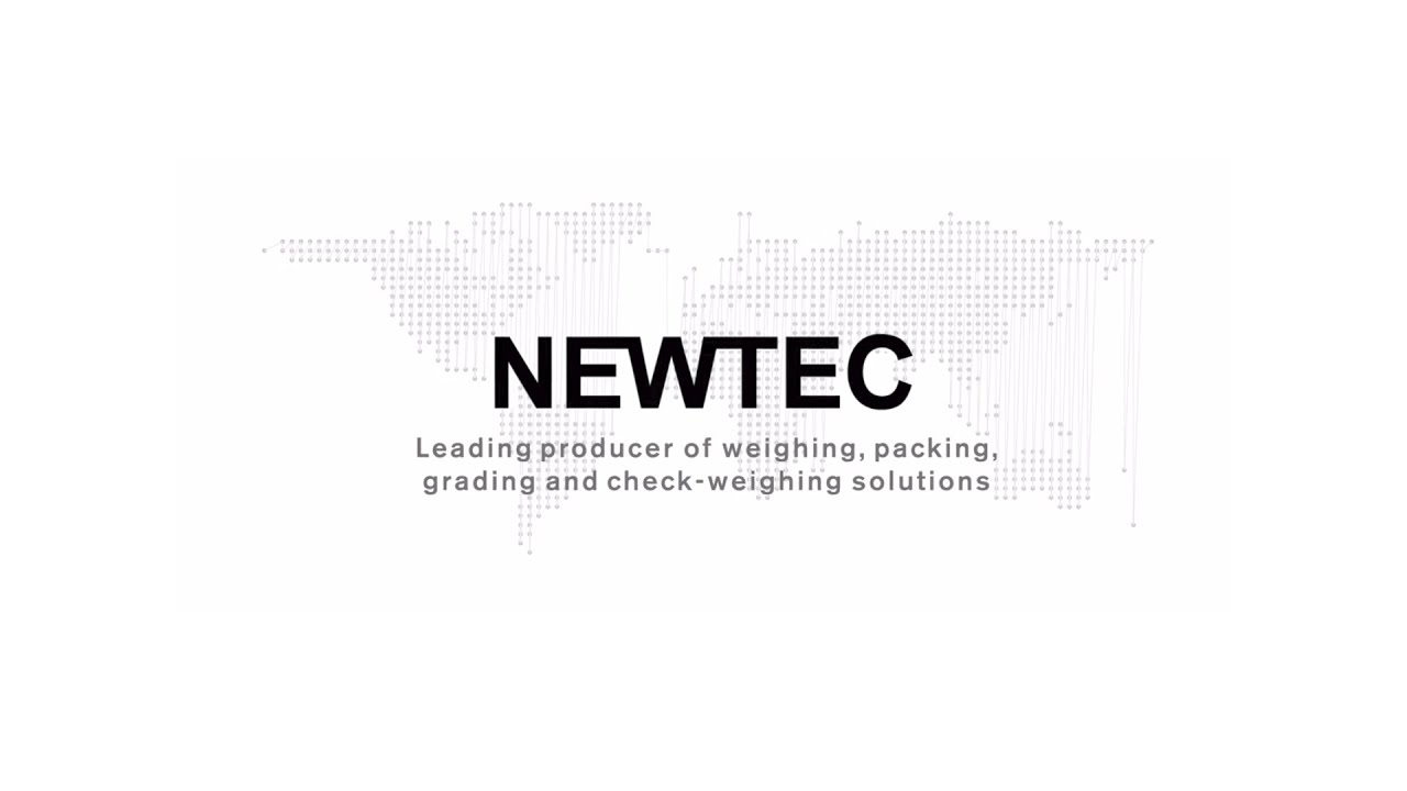 Presenting Newtec - Industry leading, high-quality weighing, packaging and sorting machinery