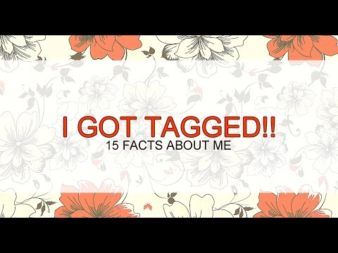 I GOT TAGGED!! » 15 Facts About Me