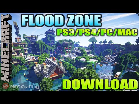 MCCC Flood Zone Water World Flooded City Town Disaster Map Download ...