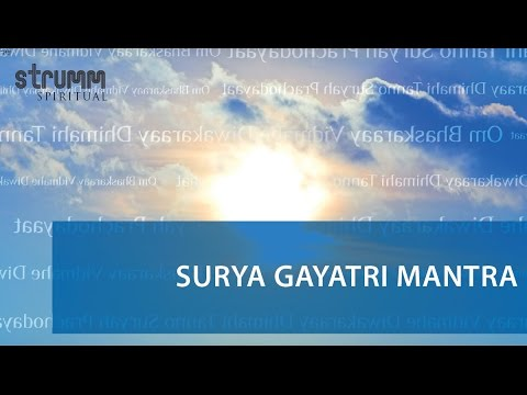 Surya Gayatri Mantra By Kedar Pandit Mp3