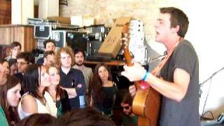 "SXSW 2010: Joe Pug sings ""Bury Me Far From My Uniform"" acoustic"