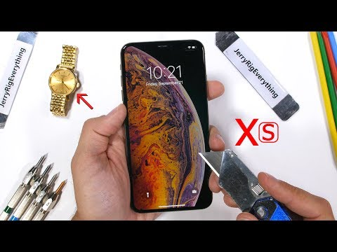 iPhone Xs MAX Durability Test – How weak is the big iPhone?
